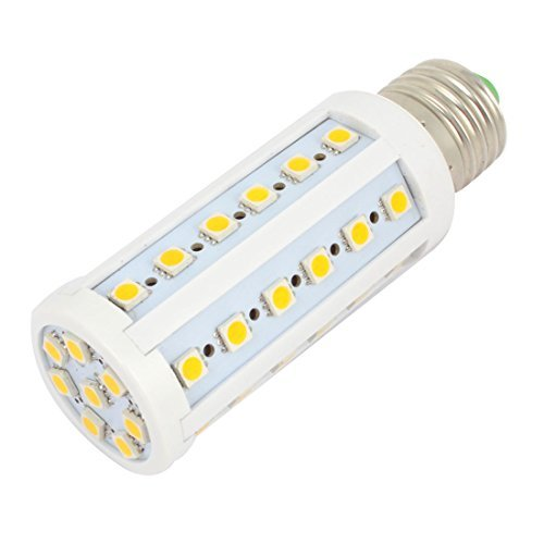 110V 8W Blanco caliente 44 5050 SMD LED de la lámpara E27 de fijación hembra 720LM