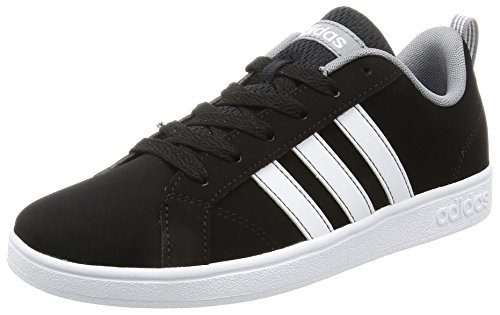 adidas  B74640, Chaussures de ville à lacets pour garçon Schwarz