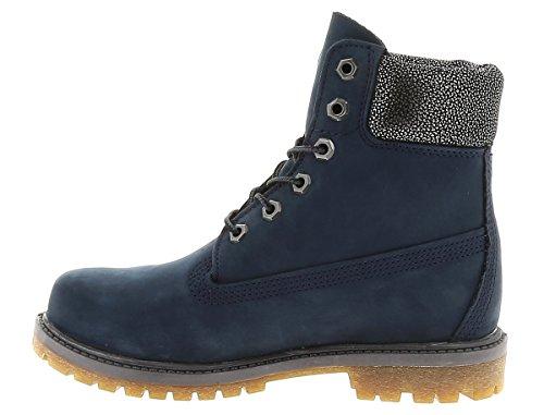 Timberland  6 in Premium FTB_6in Premium Boot - W, bottines classiques femme METALLIC BLUE