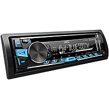 JVC KD-R862BTE - Equipo de radio para automóvil (USB, CD, Bluetooth, incluye A2DP), color negro