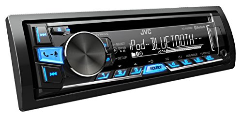 JVC KD-R862BTE USB/CD-Receiver (Bluetooth) inkl. A2DP schwarz-Blau