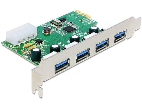 DELOCK PCIe  USB 3.0 4 Port NEC-Chipset