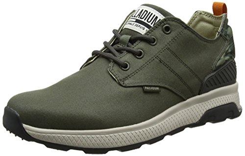 Palladium Axeon Low, Zapatillas Para Hombre, Gris (Rainy Day/Desert Camo M62), 40 EU
