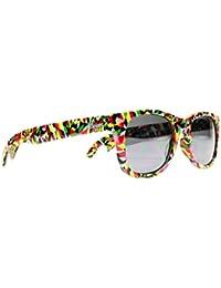 Cheers Sunglasses 1111RAGW1 The Kaleidoscopes Cheers Bottle Opener Wayfarer Sunglasses