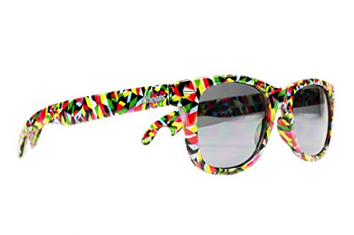 Cheers Sunglasses Flaschenöffner Sonnenbrille Kaleidoscopes Bunt