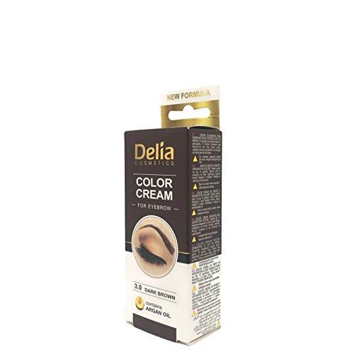 Ciglia e sopracciglia colorazione professionale, colore nero/ marrone/marrone scuro 15ml (marrone scuro)