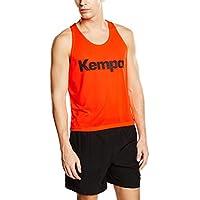 Kempa Shirt Markierungshemd - Camiseta sin mangas de balonmano para hombre, color naranja, talla S