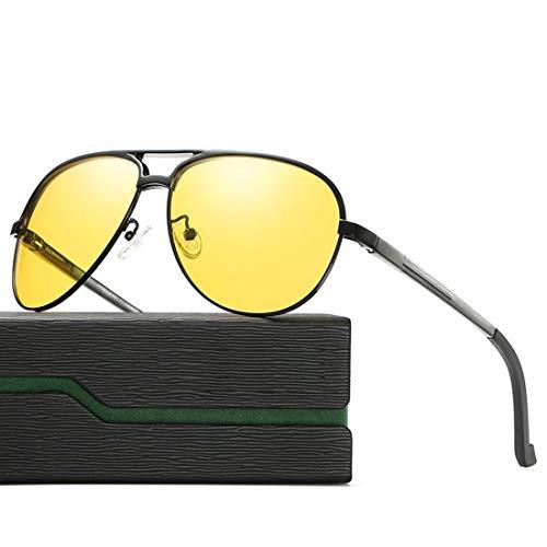 Ofliery Nachtsichtbrillen Nachtsichtgläser zum Blenden der Nachtgläser (Color : Black)