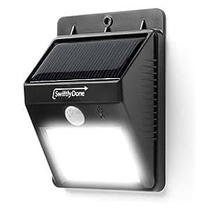 Swiftlydone Bright Outdoor Led Light Solar Energy Powered