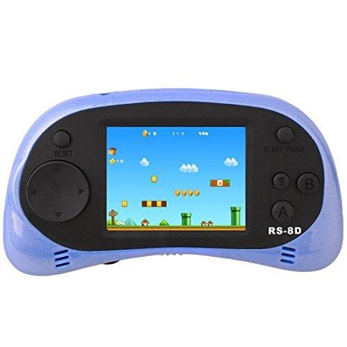 ZHISHAN Handheld Spielkonsole Retro Tragbare Spiele Konsolen inkl. 260 80er Klassische Vintage Video Spielen 2.5