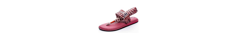 Zapatillas Sandalias Femeninas Verano Suave Fondo Cojín de Aire Casual Parte Inferior Plana (Color : B, Tamaño... -