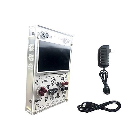GAME Maple Einhändige Spielkonsole, Spielkonsole Nostalgic Handheld PSP Multifunktionssimulator, Großbildschirm Retro-Mini-Arcade für Vier Personen, handgefertigt