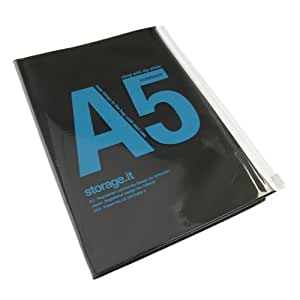 Storage.it - Notebook A5 - Black
