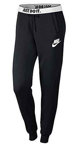 Nike Damen Sportswear Rally Hose, Black/Black/White, XS Preisvergleich
