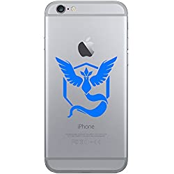 Designed-Perfection - Vinile adesivo Pokemon Go Team Mystic per telefono cellulare