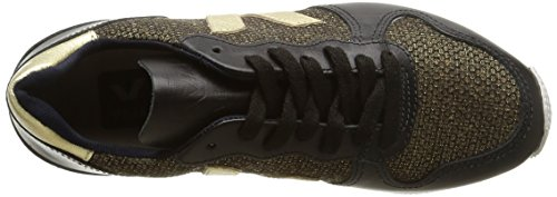 Veja Holiday Low Top, Damen Sneakers Gold (1167/gold/black/gold)
