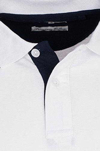 U.S. Polo Assn. Shortsleeve Polo Shirt Herren Polo-Shirt Polohemd in Verschiedenen Farben Weiß