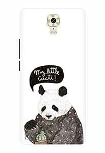 Noise Designer Printed Case / Cover for Gionee M6 Plus / Patterns & Ethnic / Panda Design