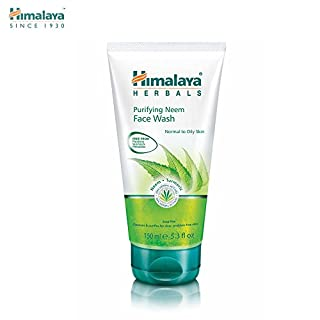 HIMALAYA HERBALS Reinigendes Neem-Gesichtswaschgel 150g | Natürlicher feuchtigkeitsspendender Gesichtsreiniger | Reinigt gründlich Poren und entlastet Akne | Kräutergesichtsreinigung mit Ölkontrolle