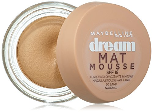 Maybelline New York Base de maquillaje Dream Mat Mousse nº 30 Natural