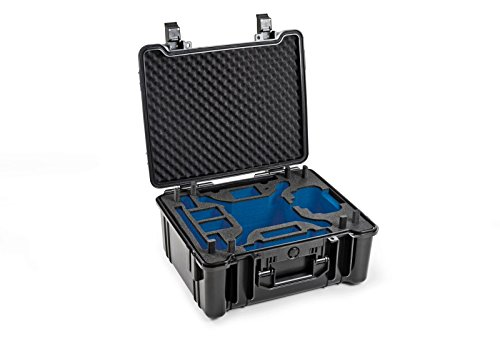 B & W Outdoor. Cases Type 61 avec Incrustation DJI Phantom 4/4 Pro/4 Pro +/4 Advanced – L'original