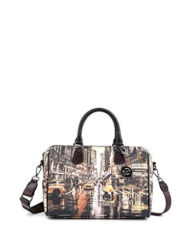 Borsa Bauletto M Grey Gun London Autumn in London K 318