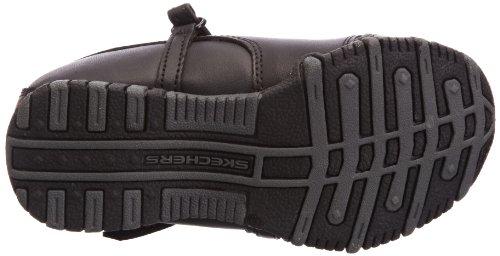 Skechers (SKEES) Bikers, Sneaker Bambina Nero (Black)
