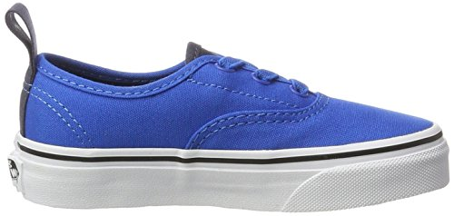 Vans Jungen Uy Authentic Elastic Lace Sneakers Blau (Canvas Imperial Blue/parisian Night)