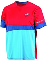 Bullpadel Blued - Camiseta para hombre, color rojo