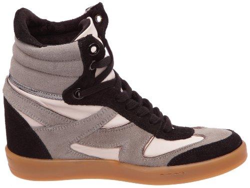 Bronx BX 353-730F02, Stivaletti donna Nero (Schwarz (Multi Black 02))