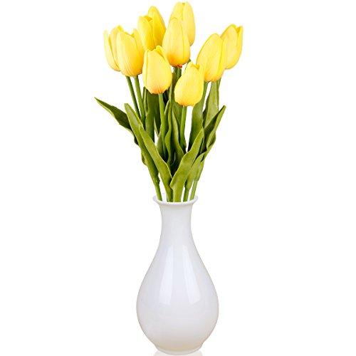 TININNA 10 head PU Artificiale Simulazione Fiori Di Mini Tulip