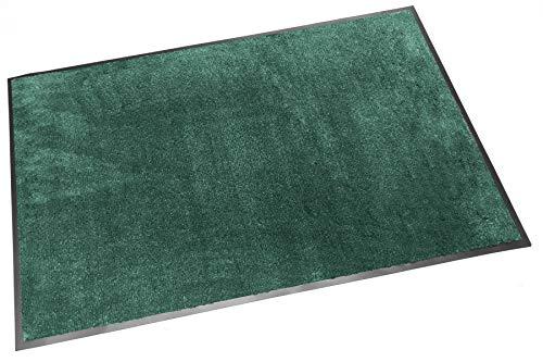 Trend Products Stuttgart Schmutzfangmatte, 90x60 cm, Farbe: Grün, Fußmatte mit hoher Nässeaufnahme, 5 Farben und 30 Größen - Olefin-teppich