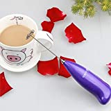 Snowpearl Portable Hand Blender for Lassi, Milk, Coffee, Egg Beater Mixer Battery Operated by Amaze Shopee, Assorted Color