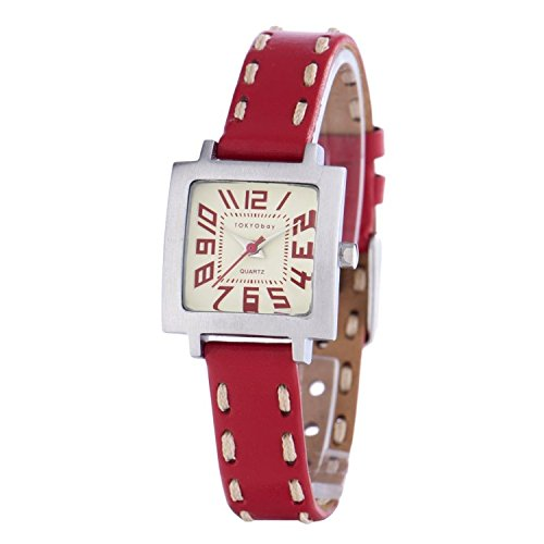 tokyobay-womens-leather-tramette-watch-in-red-tr205-rd