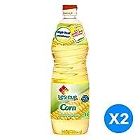 Lesieur Corn Oil - 2 x 1L