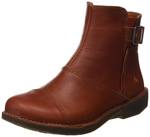memphis Bergen Petalo Damen Kurzschaft Art Orange Stiefel 7XP5wx