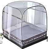 GL-home Doppel-Moskitonetz-Reise-Doppelbett rechteckige Box