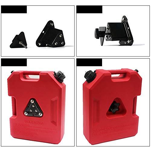 CL- Contenitore del combustibile portatile Serbatoio portatile del combustibile, polietilene denso e ad alta resistenza da 5 galloni, tamburo di ricambio dell'olio antiabrasivo multifunzione integrato