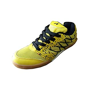 Aadix Non Marking Badminton yellow Shoes