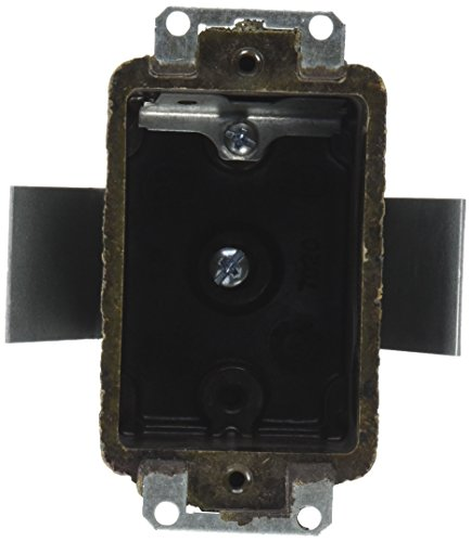 Thomas & Betts 849–1024–81857020–8Single Gang Box mit Klemmen (Gang-outlet-box)
