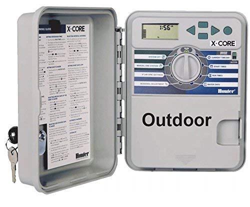 Hunter Beregnungscomputer, XC-401-E 4 Stationen (outdoor) (Farblich Sortiert)