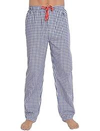 El Búho Nocturno Pantalón de Pijama Suelto de Hombre | Pantalón de Pijama de Caballero,