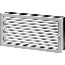 Helios rejilla de ventilación regulierbar LGR 350/230Acero galvanizado WS rejilla para sistemas de ventilación 4010184009290