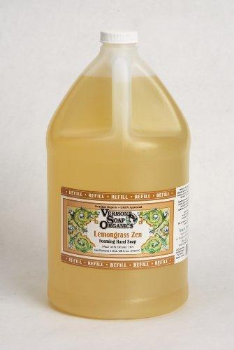 Vermont Soap Organics - Lemongrass Foaming Hand Soap Gallon Refill by Vermont Soap (Soap Lemongrass Hand)