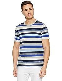 GAP Men's Striped Regular Fit T-Shirt