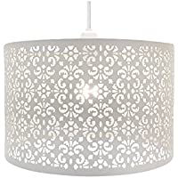 Large Metal Laser Cut Chandelier Universal Ceiling Light Shade Lamp Fitting