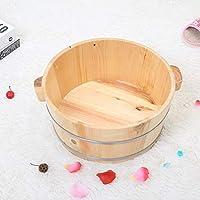 Cuenca De Pies De Madera Pedicure Bowl Spa Massage Home Fragrant Pine Foot Tub Barriles De Pedicura Suaves Y Delicados
