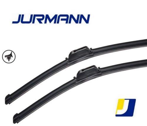 Jurmann Vision+ Aero Scheibenwischer Komplettsatz 700/530 mm Vorne mit Adapter Gelenklos hohe Qualität Wischerblätter