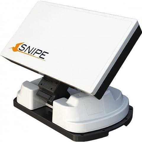 Selfsat Snipe vollautomatische de antena satélite LNB Single color blanco satélite Antena Auto skew Sat Astra