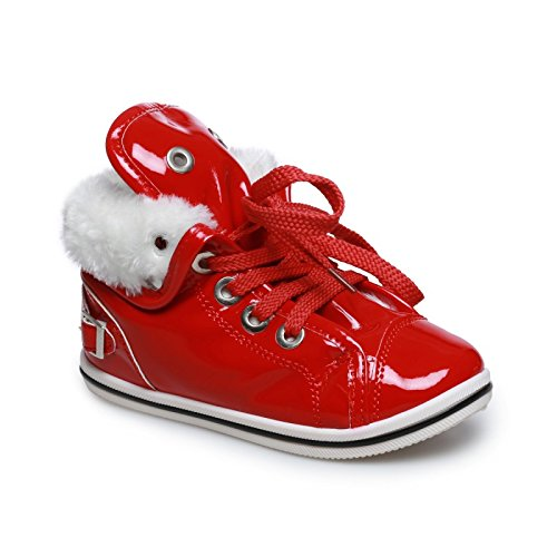 D'arresto Farcito Sneaker Battuta Rosso La Bambino Fashionista Rosso gfn6wTUP